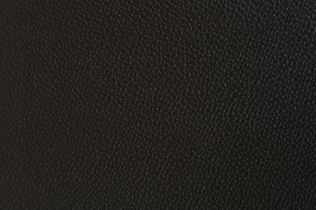Patternof Black Fake Leder texturierte  Standard-Bild