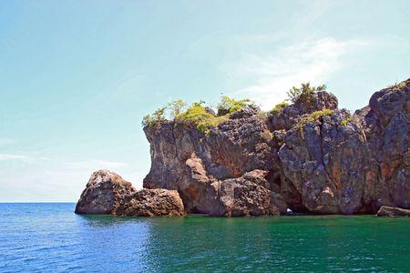 Snorkeling Point at andaman Sea, Thailand Stock Photo - 7963840