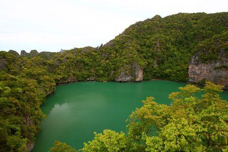 Emerald Laggon at Samui Island south of Thailand Stock Photo - 7963832
