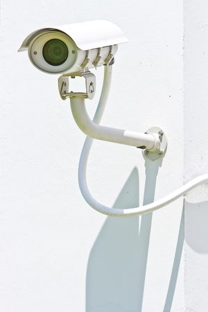 Big Security Camera, CCTV Stock Photo - 7963857
