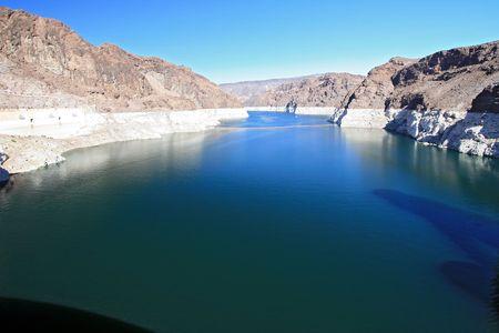 Corolado River at Lake Mead