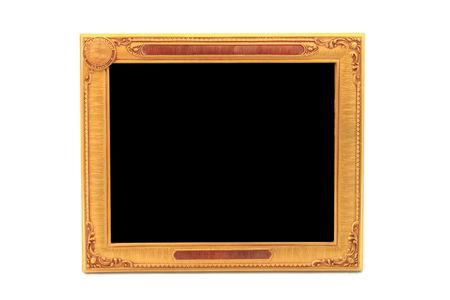 golden beautiful frame Stock Photo - 8176633