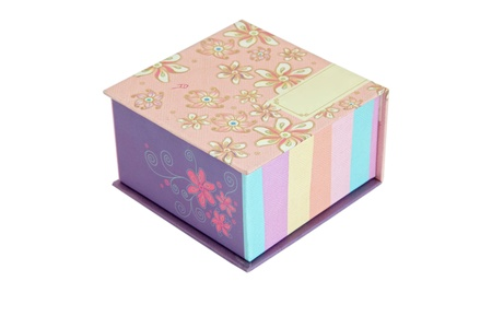 pink traditional christmas gift box in chinese style Stock Photo - 8257870