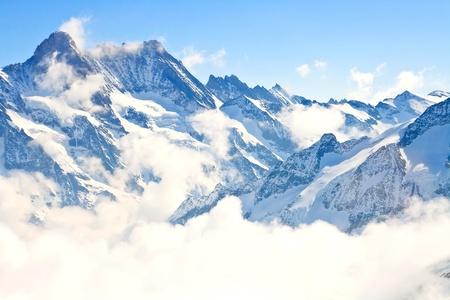 part of Jungfrau region in Swiss Alps, Switzerland photo