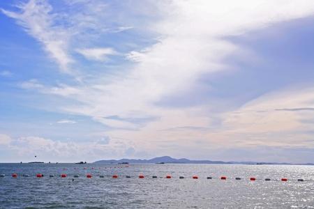 Swimming zone at Pattaya Beach Thailand Stock Photo - 8409212