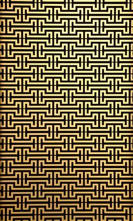 modern wall pattern on yellow brick Stock Photo - 8837523