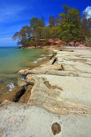 fossil record: Seashell Fossil cape in Thailand