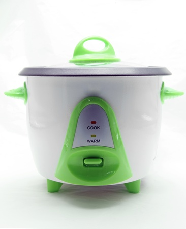 cooker: electronic rice cooker Stock Photo