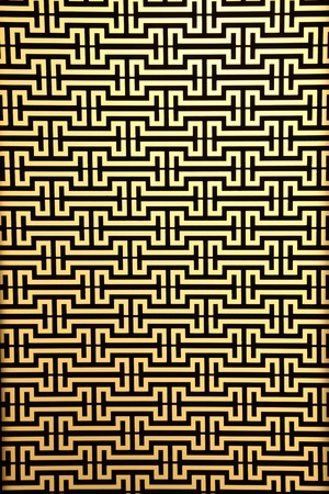 widows steel rod pattern on yellow Stock Photo - 9062938