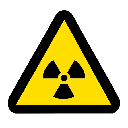 Nuclear Symbol Stock Photo - 9136409