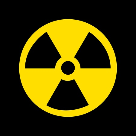 Nuclear Symbol Stock Photo - 9136414
