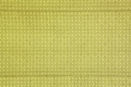 pattern of yellow maze clothing wall paper Stock Photo - 9361277