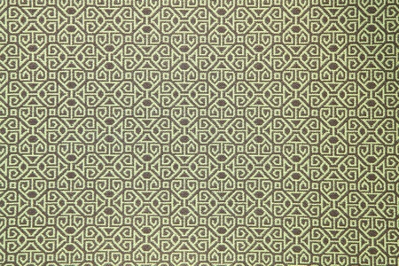 pattern of green tradition clothing wall paper panel, close up Stock Photo - 9361278