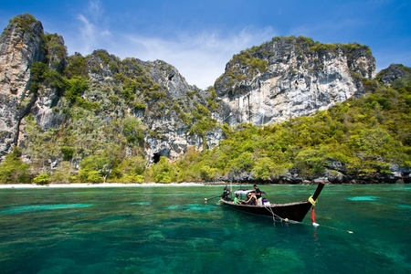 dive trip: Snokling Point at PhiPhi Island Phuket Andaman Thailand