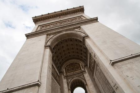 Arc de Triomphe or Arch of Triumph Paris France photo