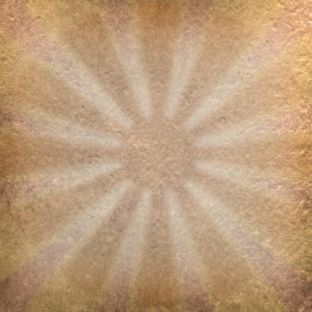 vintage grunge craft paper with sun shape inside Stock Photo - 10201321