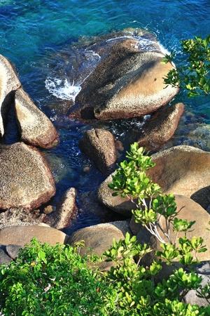 similan islands: Andaman coast at Similan Island National park Thailand Stock Photo