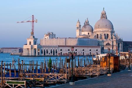Church of Health, Grand canel Venice Italy photo