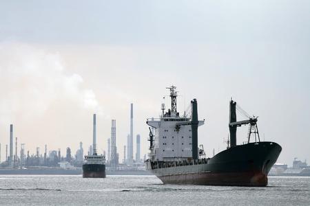 tug boat: Cargo Liner ship