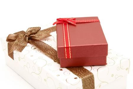 seasonal greeting: perspective of gift boxes for seasonal greeting