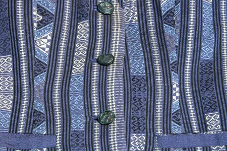 tailored: blue silk shirt using as background Stock Photo