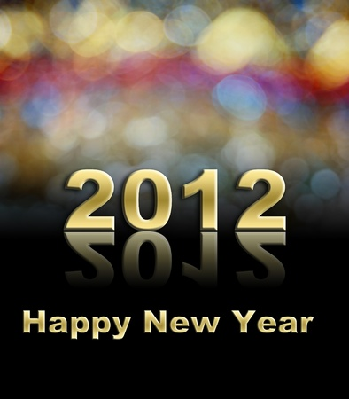 Happy New Year day using for holiday background Stock Photo - 10589856
