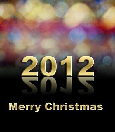 colorful Merry Christmas using for holiday background Stock Photo - 10589858