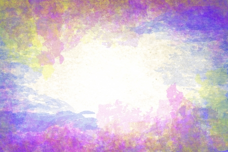 abstract color grunge style on old paper background photo