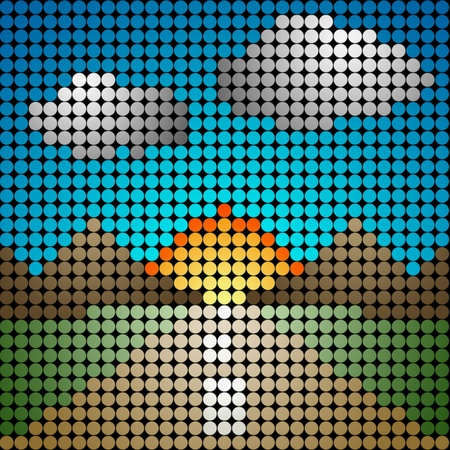 Led Screen Pattern Led Screen Photo
