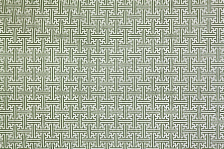pattern of green maze clothing wall paper, close up Stock Photo - 10798720