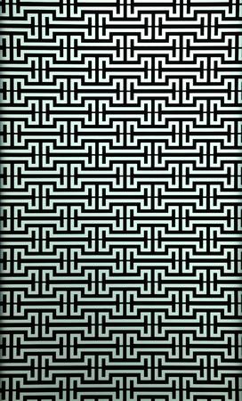 modern wall pattern on light blue brick Stock Photo - 10888563