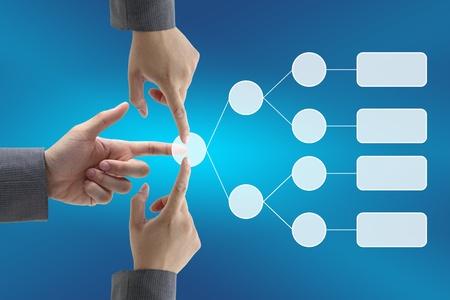subset: business decision team analysis diagram