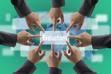 A diverse business teamwork do World Performance Evaluation Audit photo