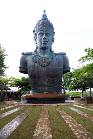 garuda: Architecture of Wisnu Garuda Kencana God Cultural Park Bali Indonesia