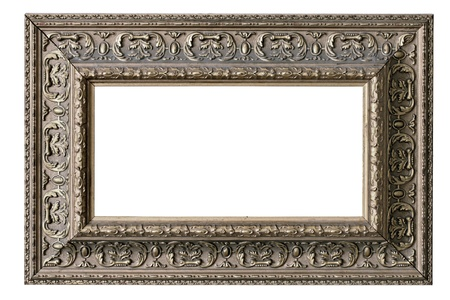 isolated blank elegance classic picture frame photo