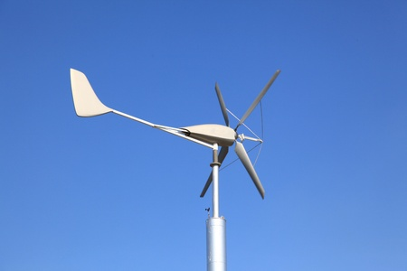 Wind Turbine using as Green Power and Energy photo