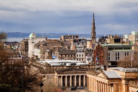 skylines: Edinburgh Skylines building Scotland UK