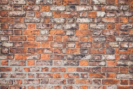 Vintage and Grunge Brick Wall photo