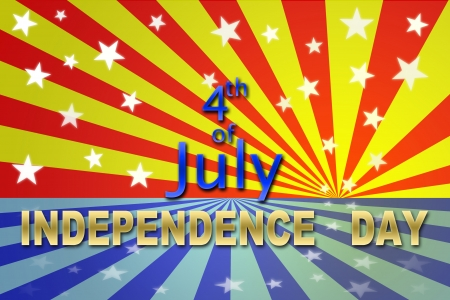 USA Independence day 4 July for Holiday Background photo