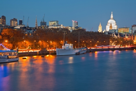 London Cityscape with St Paul photo