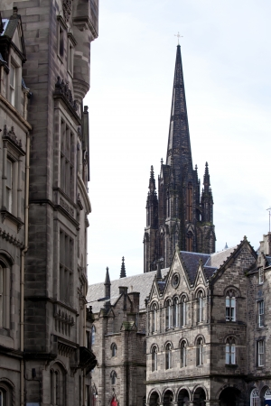 giles: Architecture of St  Giles Cathedral Edinburgh Scotland