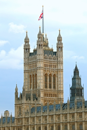 Victoria Tower House of Parliament London England UK photo