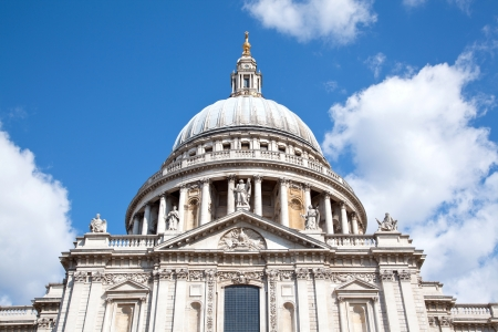Close up of St.Paul Cathedral Dome London England UK photo