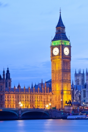city of westminster: Big Ben Clock Tower, house of westminster Parliament, London England UK Stock Photo