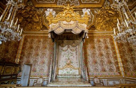 castle interior: Luxury room in  Versailles Palace Paris France