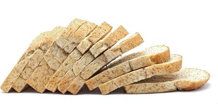 thresh: loaf of sliced Fresh whole wheat bread Stock Photo