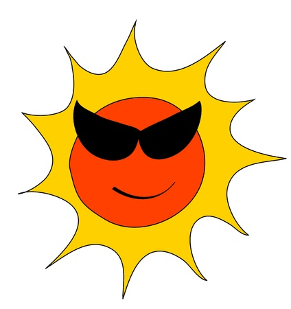 Sunny Icon for Weather forecast Stock Vector - 17591044