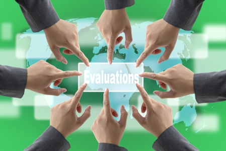 A diverse business teamwork do World Performance Evaluation Audit photo
