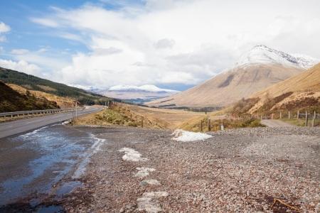 Countryside landscape Highland Scotland United Kingdom photo