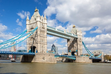 London River Thames and Tower Bridge International Landmark of England United Kingdom photo